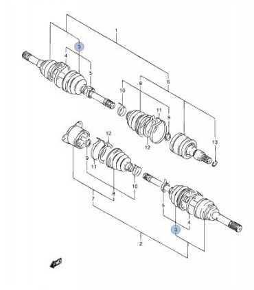 Fuelle de homocinetica lado caja/rueda CHINA